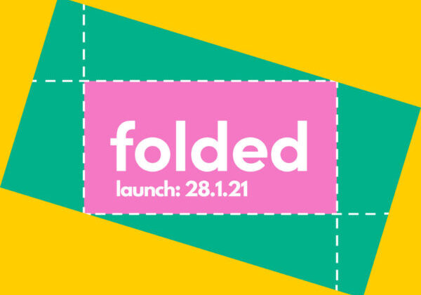 Folded launch graphic