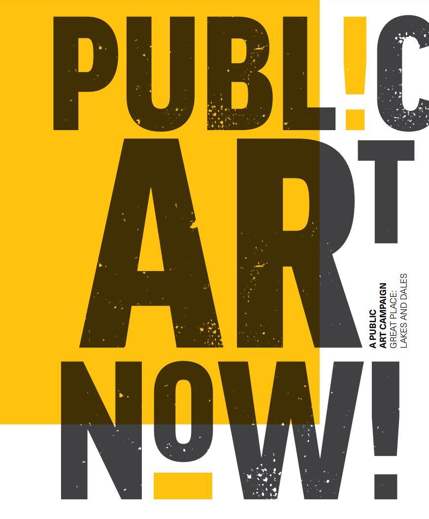 public art now booklet cover